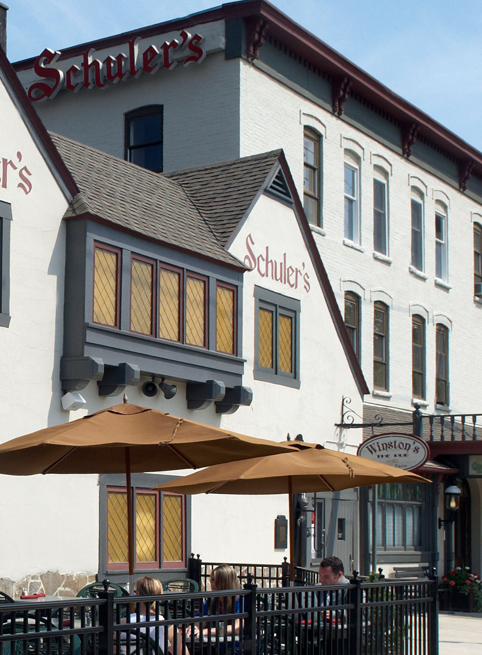 Schuler's Building and Patio